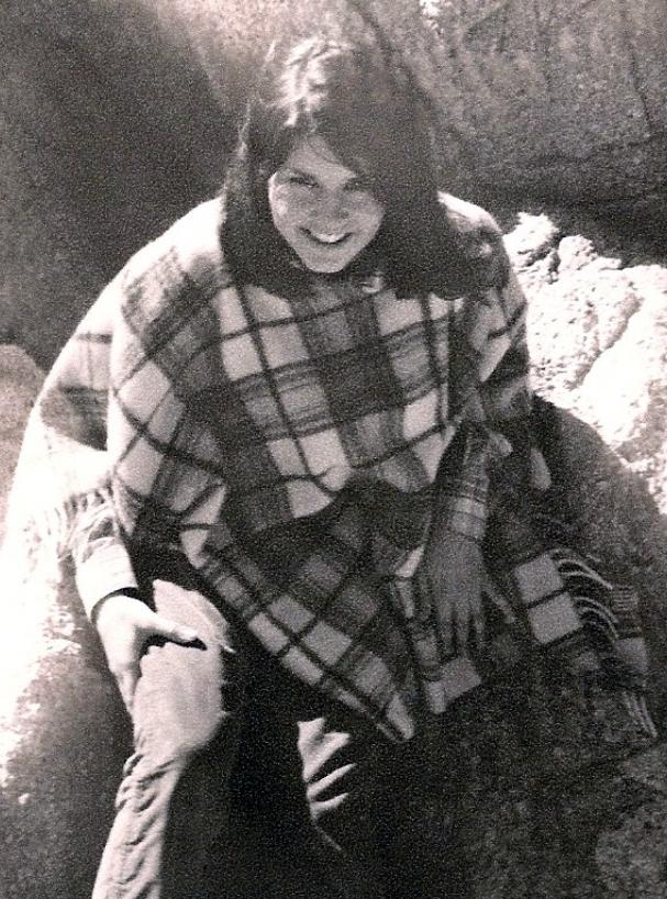 Kathy in Poncho