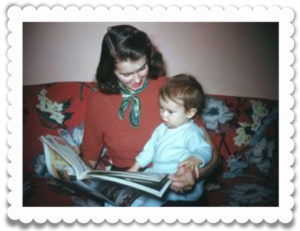 Sometimes I would read to my mother.