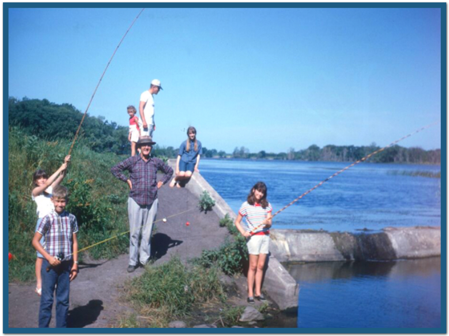 July 12 1968 kathleen rowell for Fishing in iowa