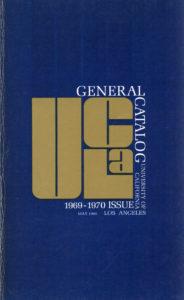 UCLA General Catalog
