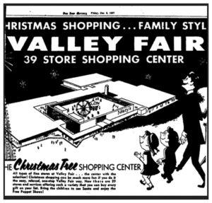 Valley Fair Ad 1967