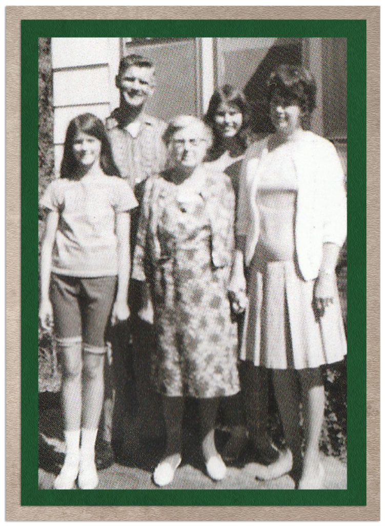 OUR FAMILY WITH GRANDMA O, SUMMER OF '68