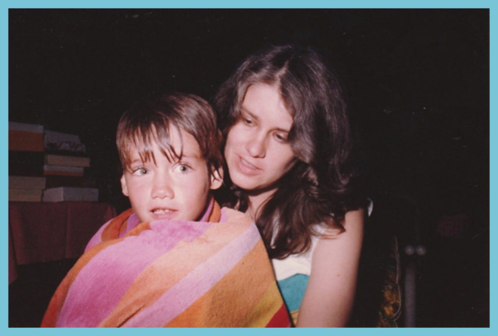 With CD at Sam's baby shower sometime prior to 8/11