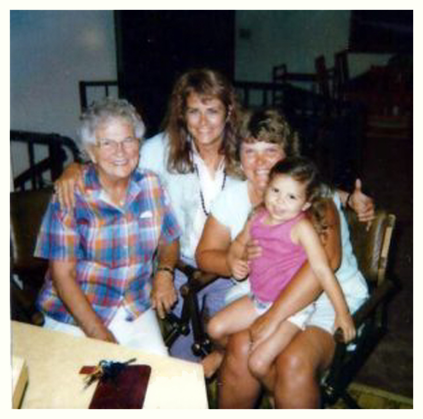 NATALIE AND I WITH HER MOTHER AND HER DAUGHTER