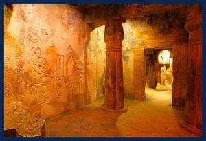 Replica of Egyptian Tomb