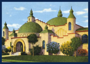 Postcard of Rosicrucian Planetarium