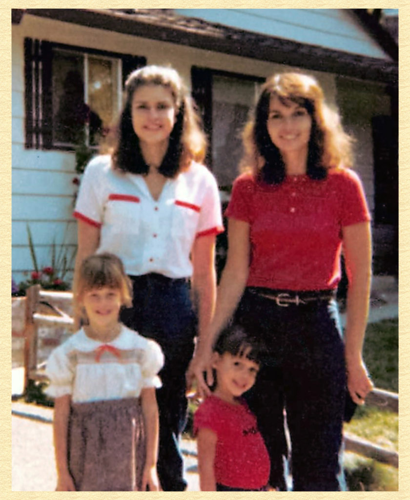 Mary and me suburban matrons - about a decade later