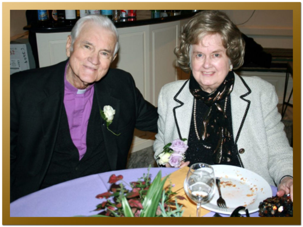 Another romantic and very happily married - for 66 years! - couple, my parents.