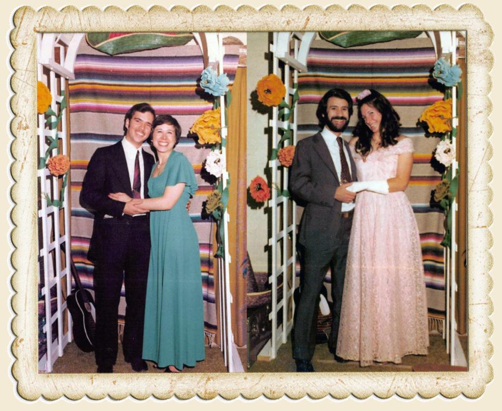 Kim Mistretta and Karen Hermann, the future Mrs. Art Everett (this was the night they met) & Ken Millikian and Steffani Graham