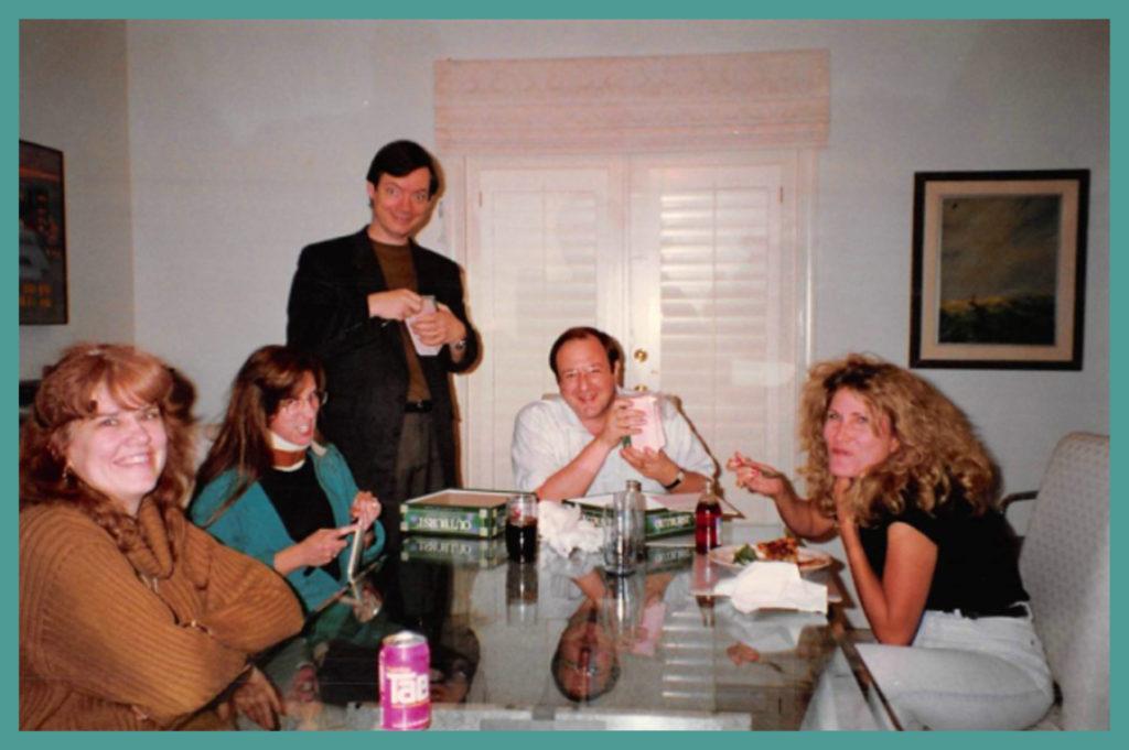 Me, Linda Field Stoliar, John Rowell, Steve Stoliar, Anne Kurrasch