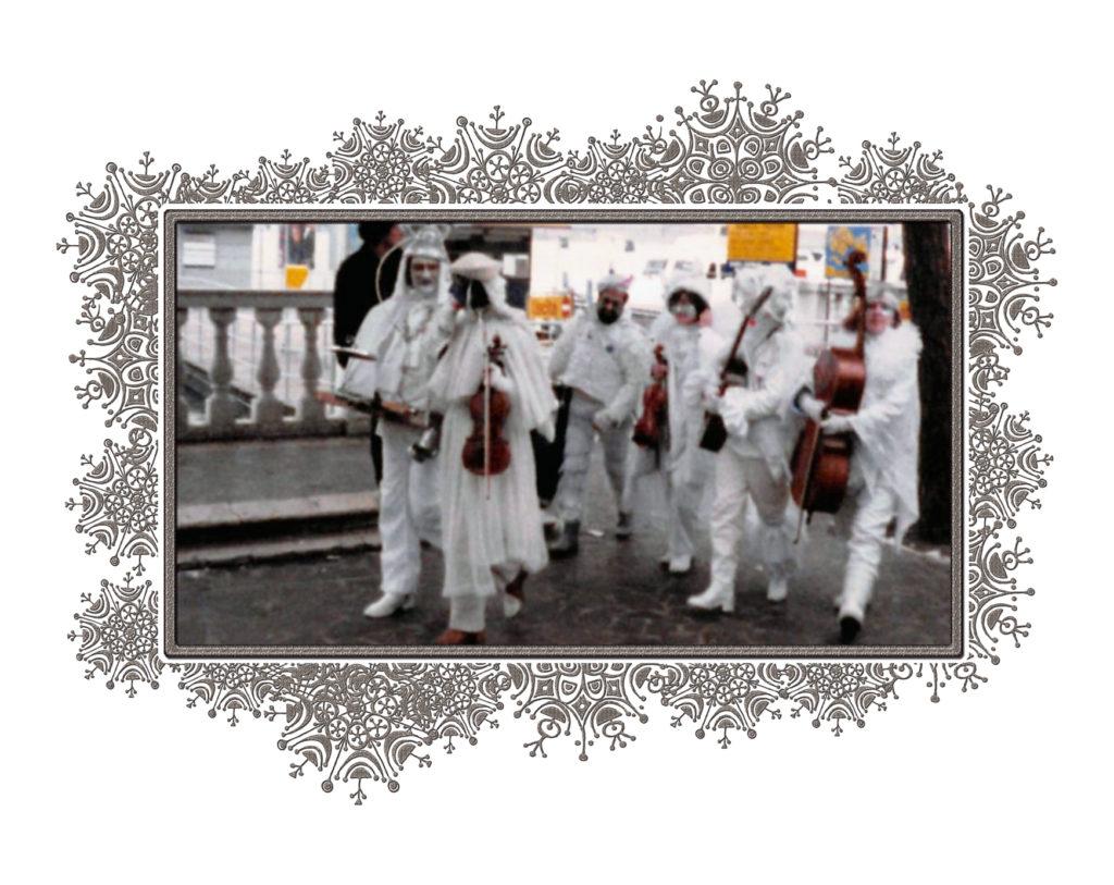 Musicians in costume