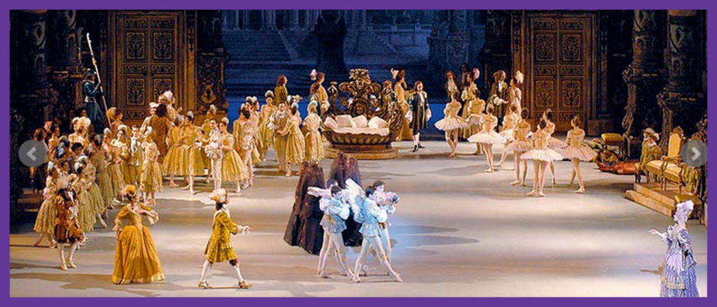 From the official website of the Rudolf Nureyev Foundation - Sleeping Beauty