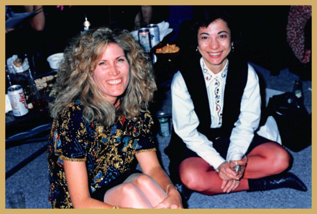 Anne with Dr. Patti Akopianz (Cavender)