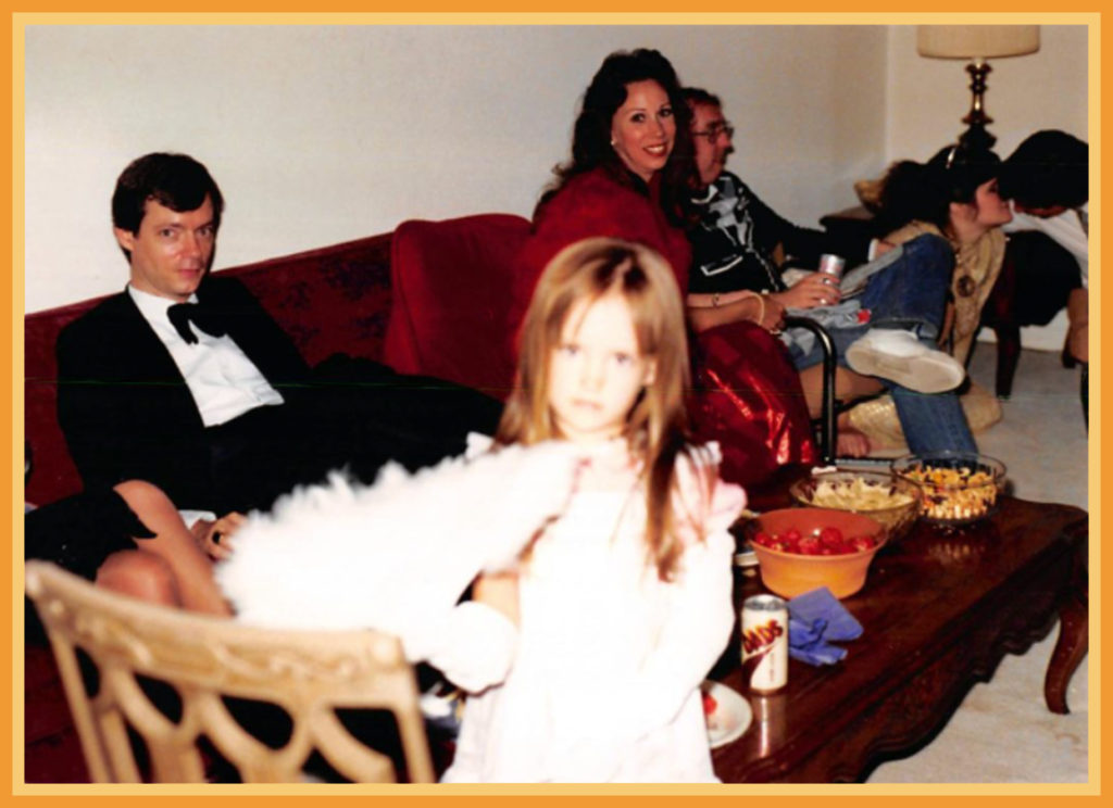 J, Sam, Judith Russell, Terry McDonnell
