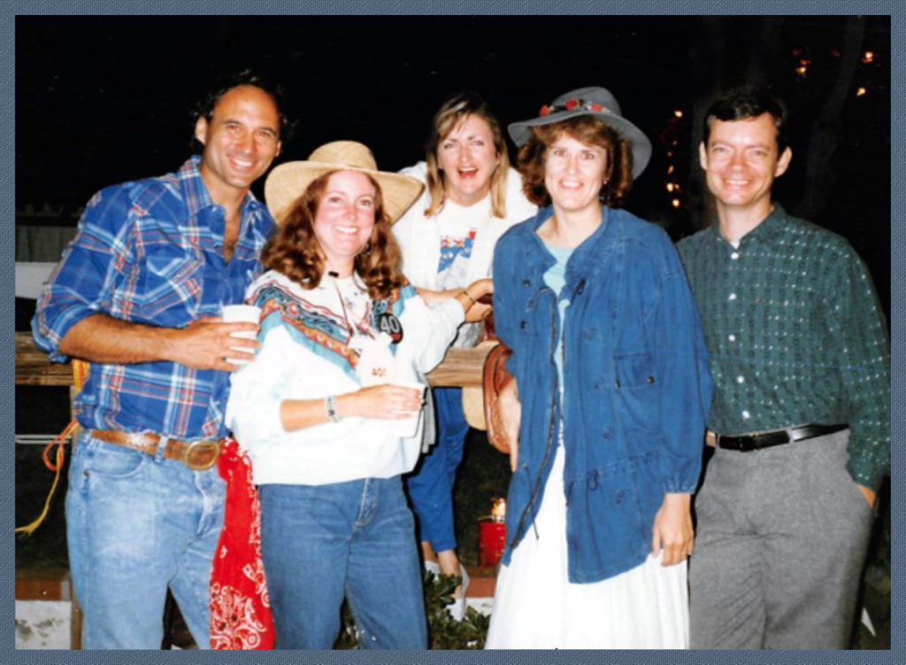 Jack and Mary deNove, my sister Janet, me and John