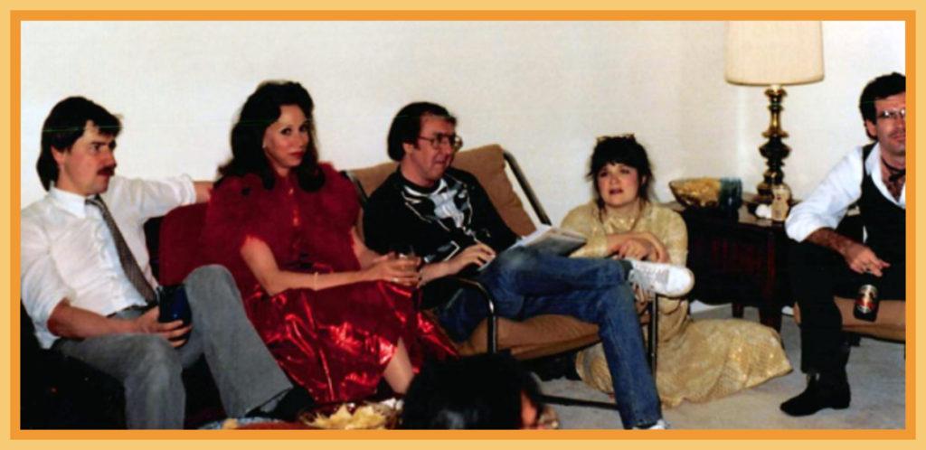 John Salter, Judith Russell, Terry McDonnell, Joyce Salter and Jon Crane (cut off)