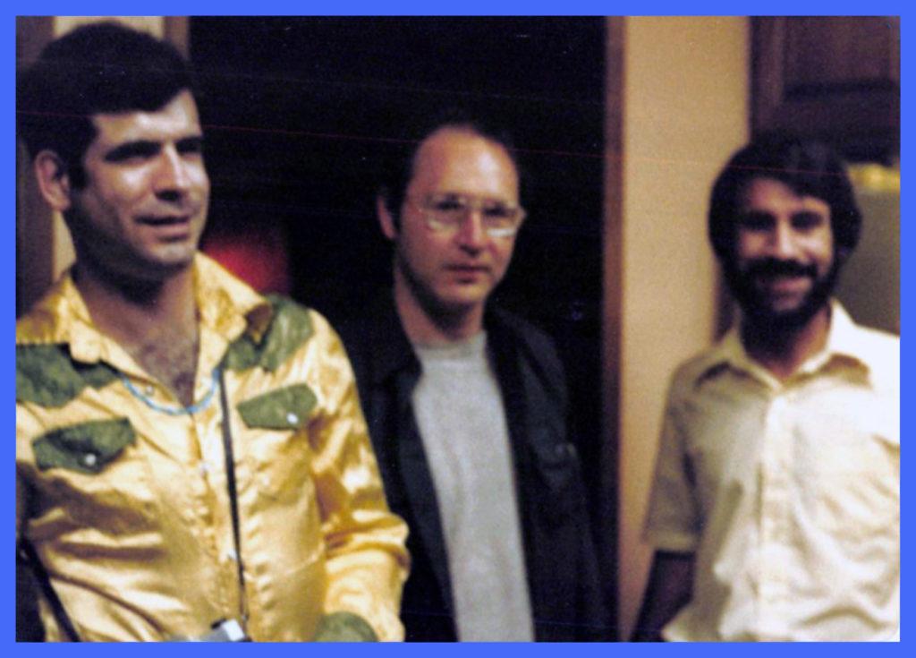 Jon Crane, Ned Steag, Ken Millikian