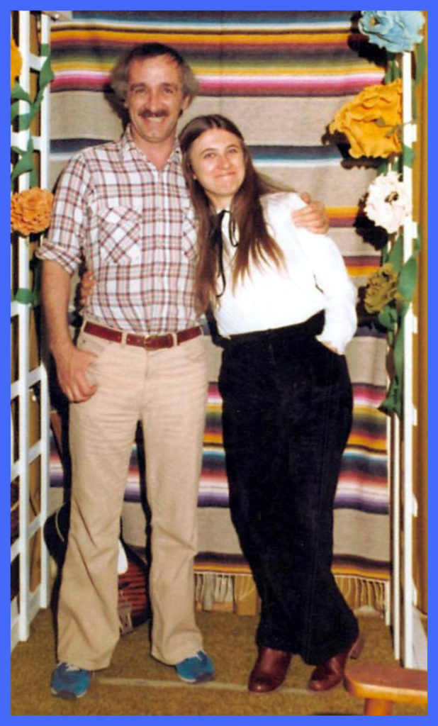 Michael Arnold, who was in charge of the Law House, with girlfriend.