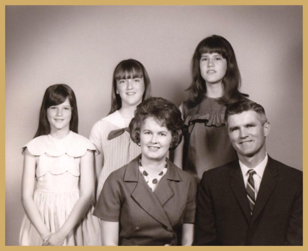 My nuclear family circa 1968