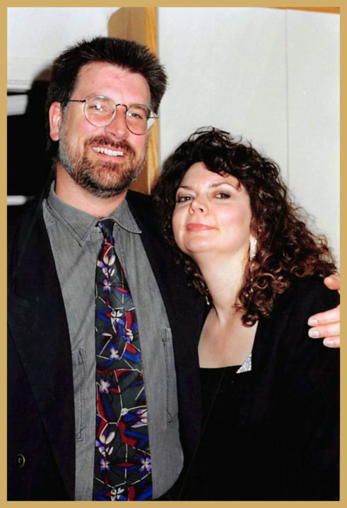 Rob Huddy and Deborah Amelon