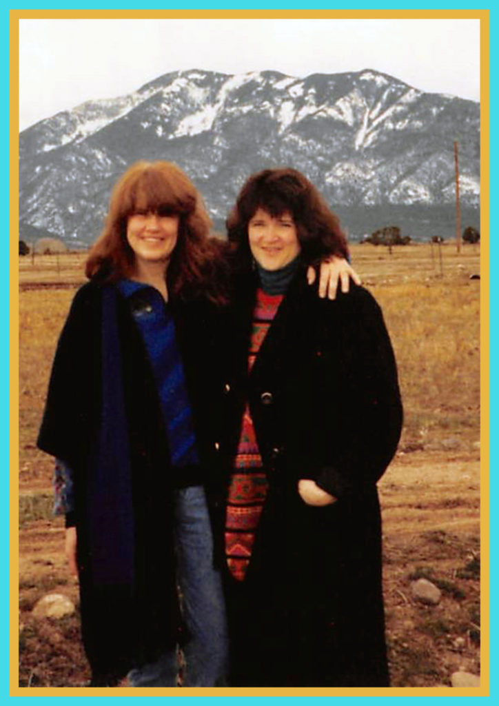 Two sisters in Taos