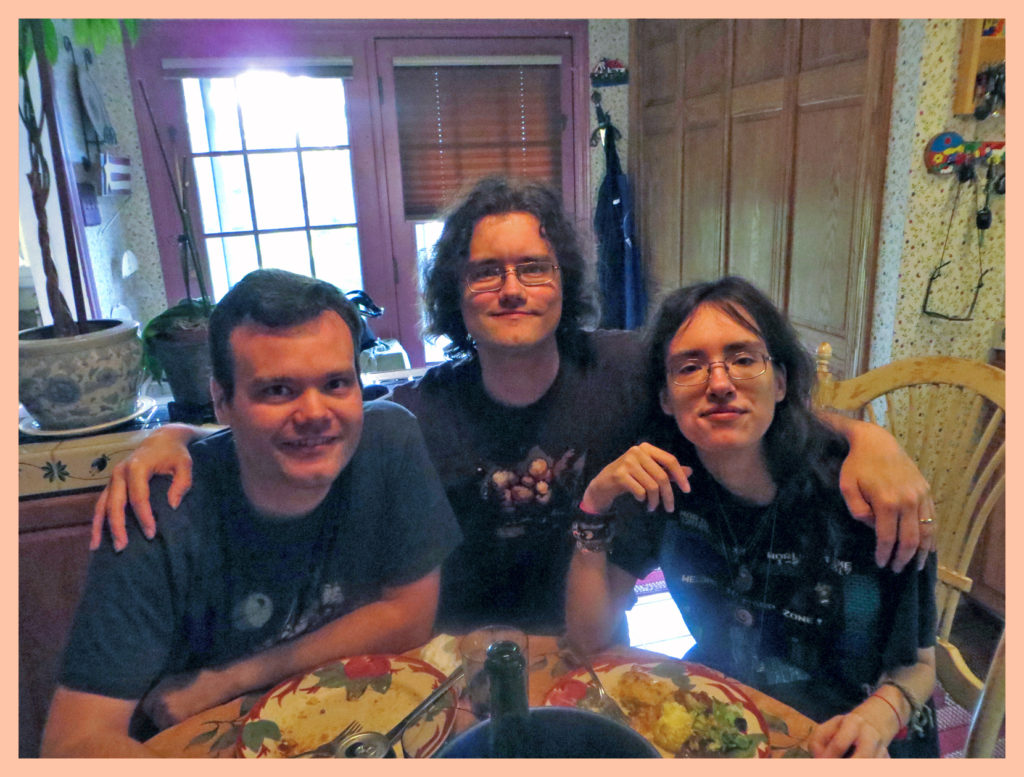 Easter 2014 - Alex, Chris, Sam.