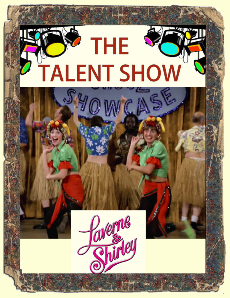 Laverne & Shirley - The Talent Show