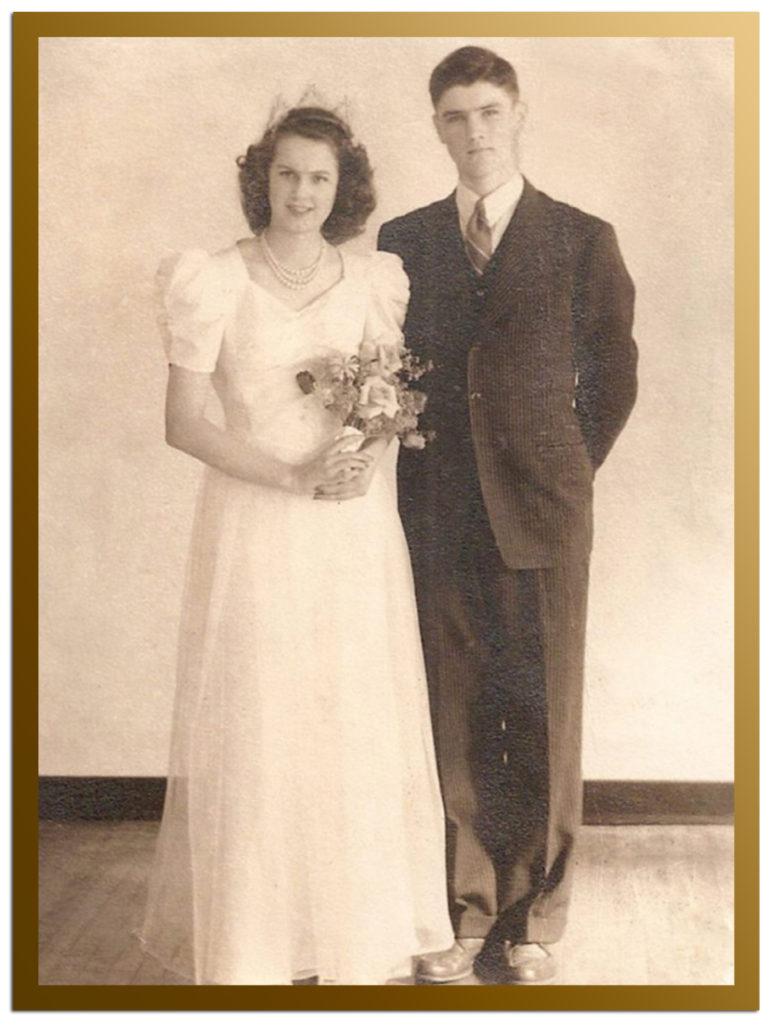 My parents as King and Queen in 1943