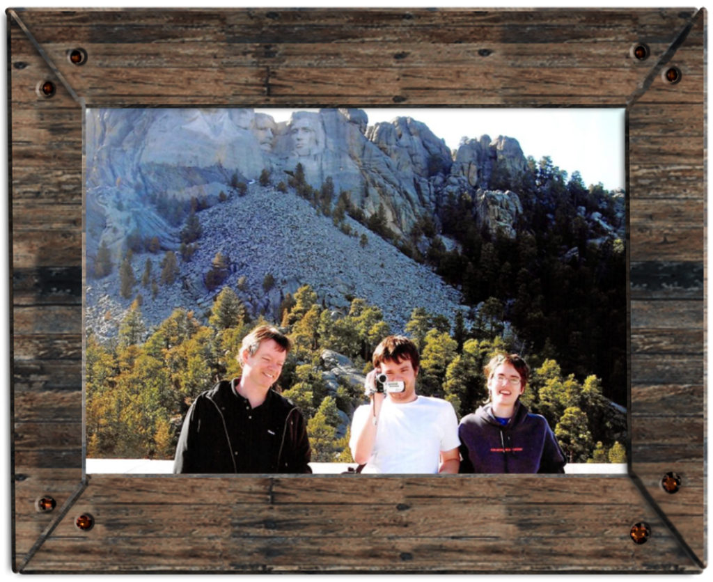 The second time we drove far out of our way to see Mt. Rushmore and - once there - stuck around for less than five minutes.