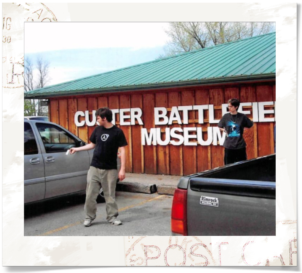 We stopped at the Custer Battlefield Museum because it was conveniently on the way.