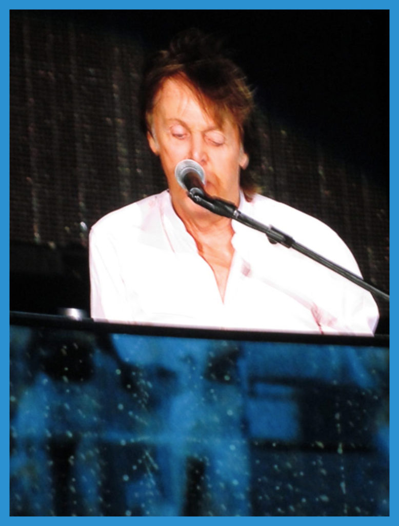 As close as I'm likely to come to Mr. McCartney - Desert Trip, October 2016