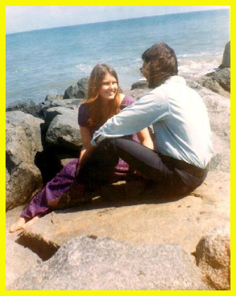 Luke and I, Santa Monica Beach,1969