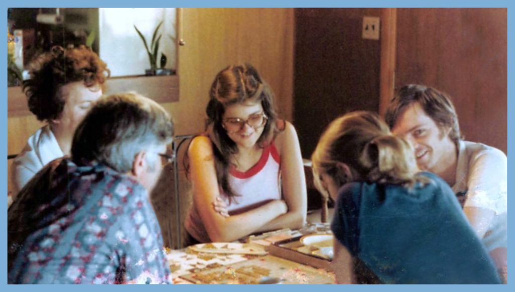 More board games in Tahoe 1978
