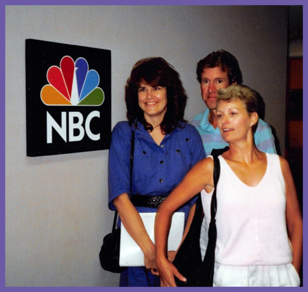 NBC Loomed large in my life and my cousin Craig and his wife Karen (who shares my exact birthday - year and everything) when they visited us in California.