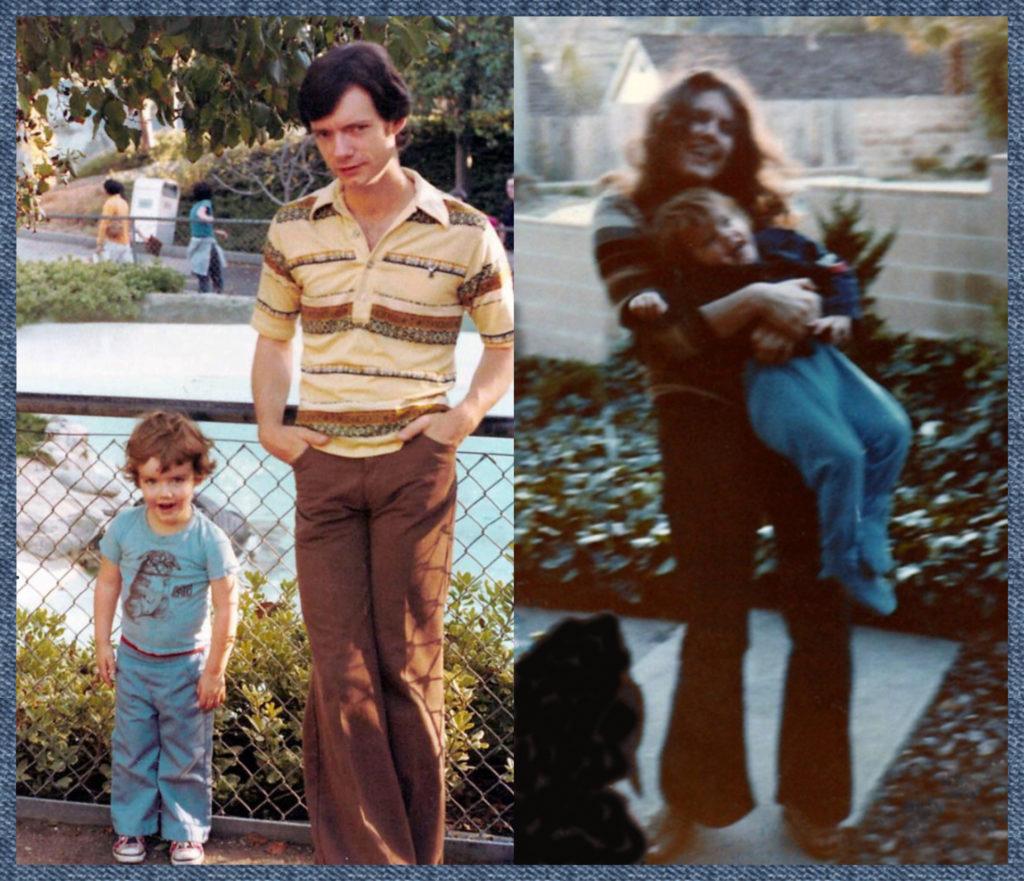 John and I with CD circa 1979