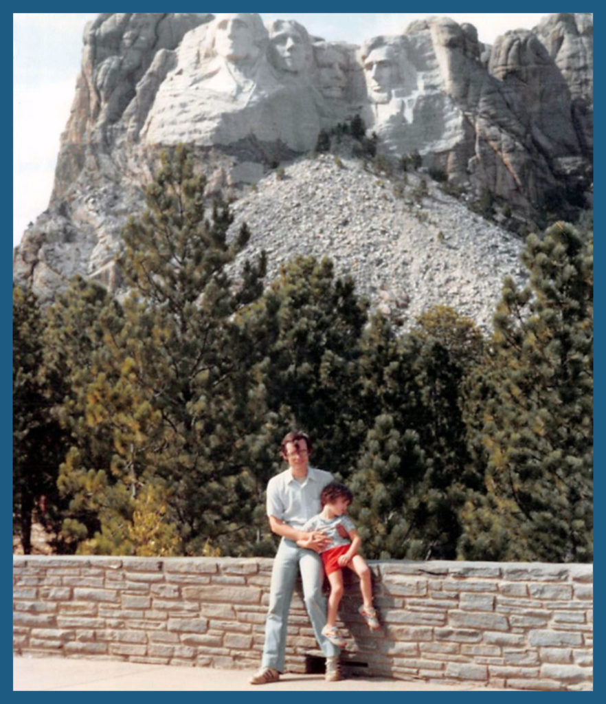 Look! Mt. Rushmore!! Okay, don't look. Whatever works for you.
