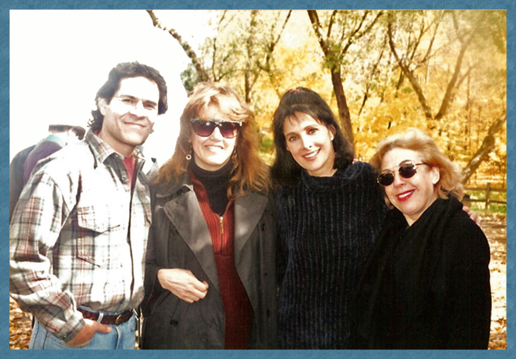 A. Martinez, Me, Connie Selleca, Felice Gordon