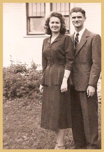 My wonderful parents when they were young.