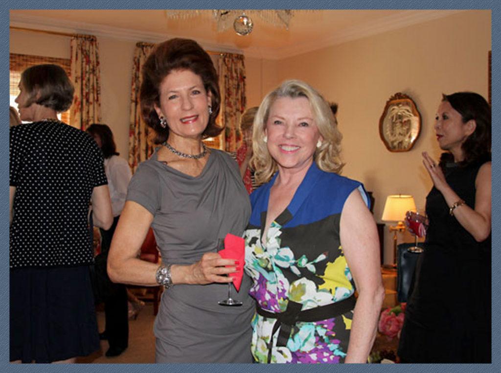 Christy Welker on the left