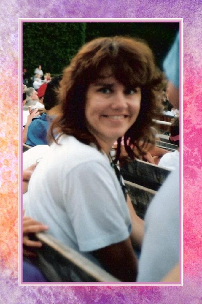 Kathleen at the Hollywood Bowl