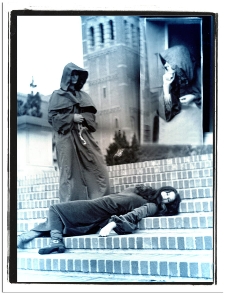 Someday, inevitably, I will die - hopefully not at the hands of a monk on the Janss Steps at UCLA.