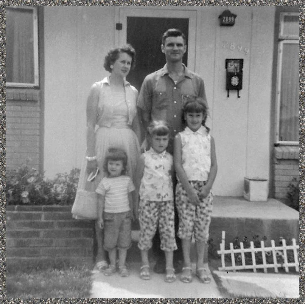 My family in the early 60's.