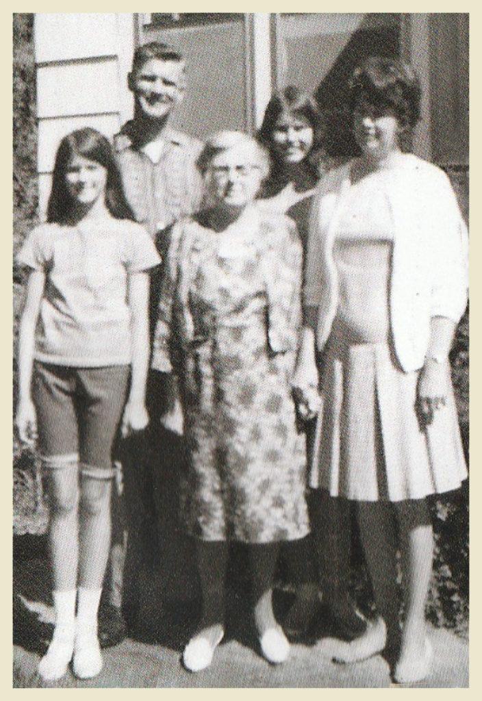 With Grandma O