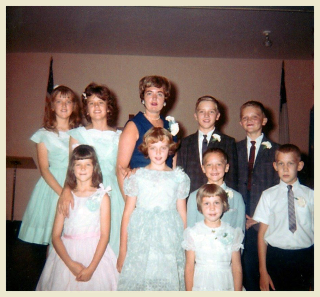 With K cousins circa '64