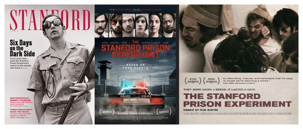 Posters for the 2015 film about the Stanford Prison Experiment