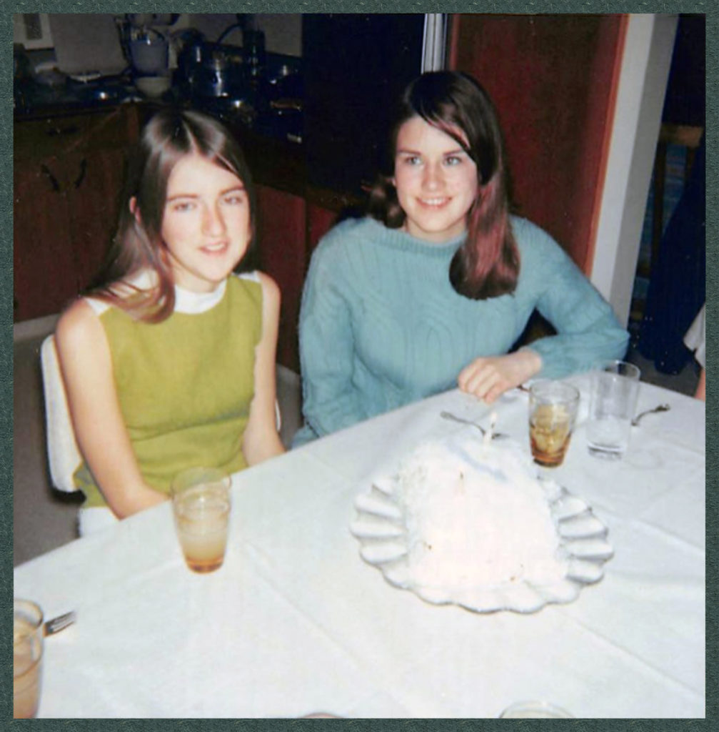 Janet and I in 1967