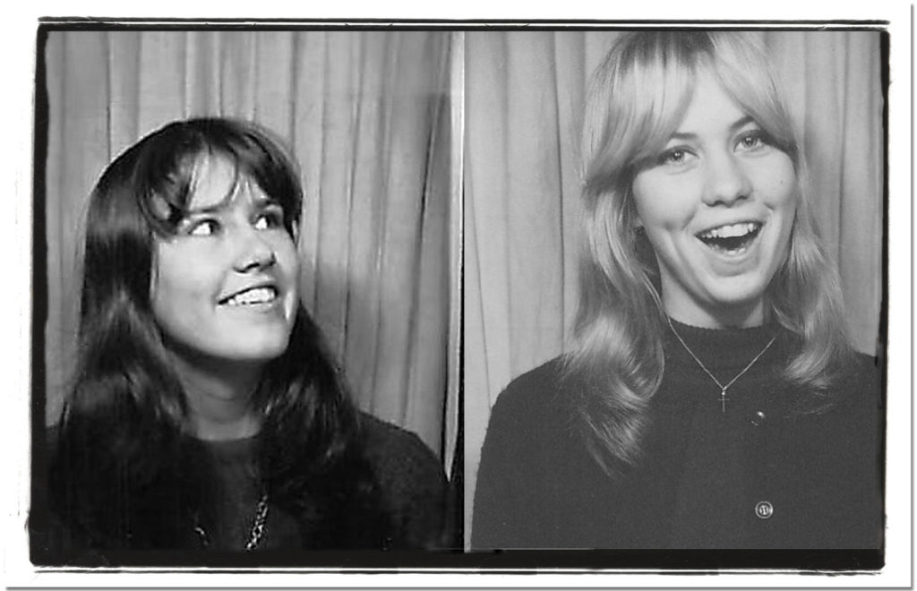 Kathy and Sandy 1966 4