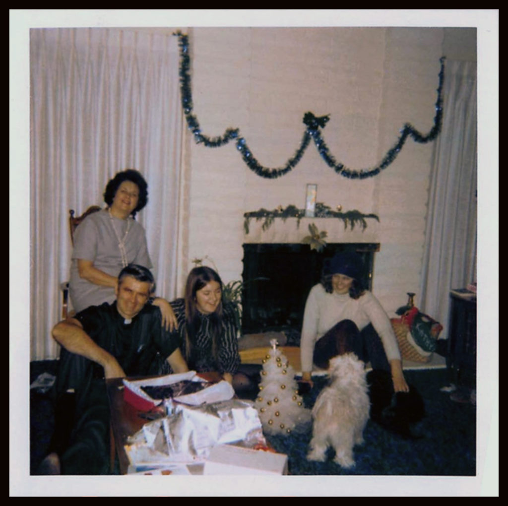 In San Diego with the family around '71.
