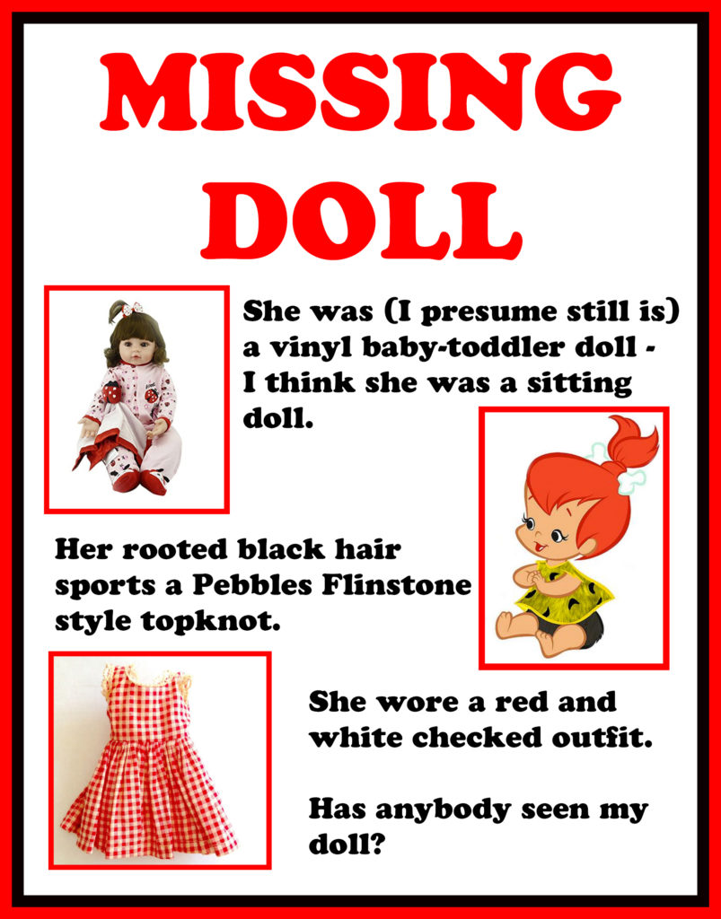 Missing Doll Poster