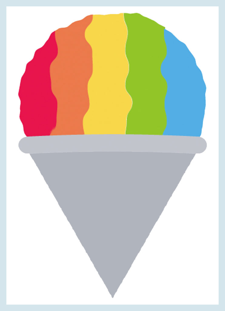 Believe it or not - there is a Snow Cone Emoji - so I guess people are still craving them.